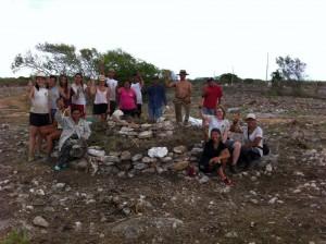 Groupe Humani'Terre - Jardin communautaire - Telchac Puerto